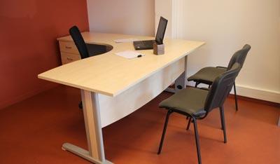 Location ponctuelle de bureaux et de salles de réunion « initio